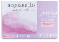 Fabriano Artistico Extra White Watercolor Blocks