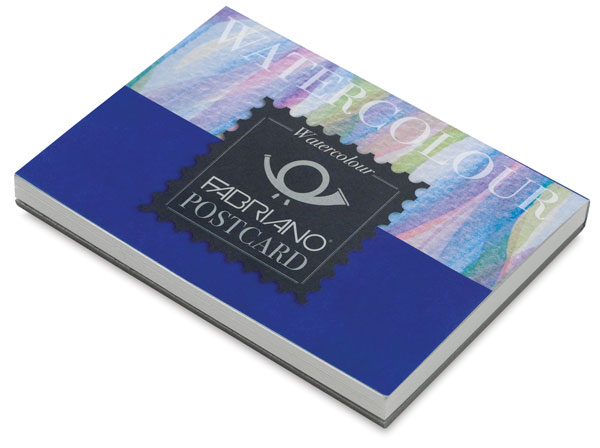 Watercolor Postcard Pad, 20 Sheets