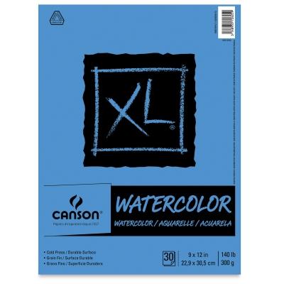 Watercolor Pad, Euro Fold