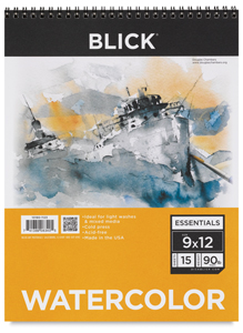 blick essentials watercolor pads blick art materials