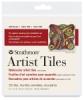 """Watercolor Artist Tile, 4"""" x 4"""""""