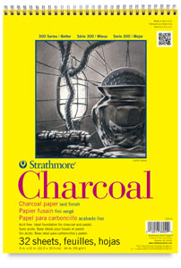 Charcoal Pad, 32 Sheets, Wire Bound