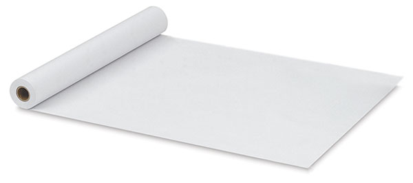 White Easel Paper Roll