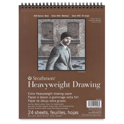 Heavyweight Drawing Pad, 24 Sheets