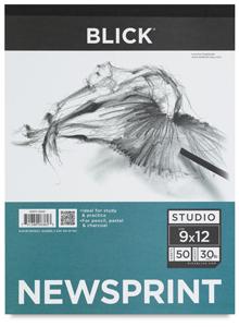 Newsprint Pad, 50 Sheets