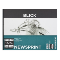 Newsprint Pad, 100 Sheets