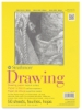 "Drawing Pad, Glue Bound, 50 Sheets, 9"" × 12"""
