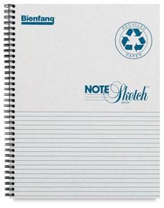 Notesketch Pad, Horizontal
