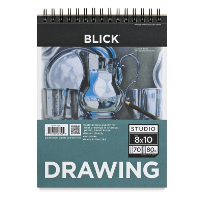 "Drawing Pad, 8"" x 10"", 70 Sheets"