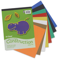 Art Street Construction Paper Pad