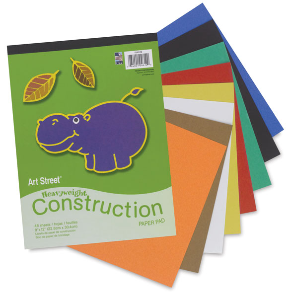 Construction Paper Pad