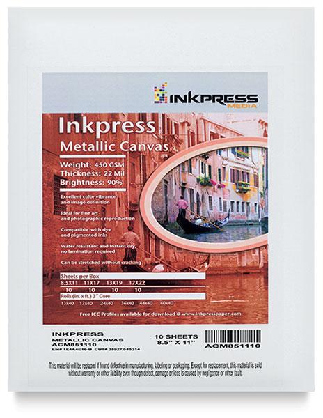Metallic Canvas, Pkg of 10