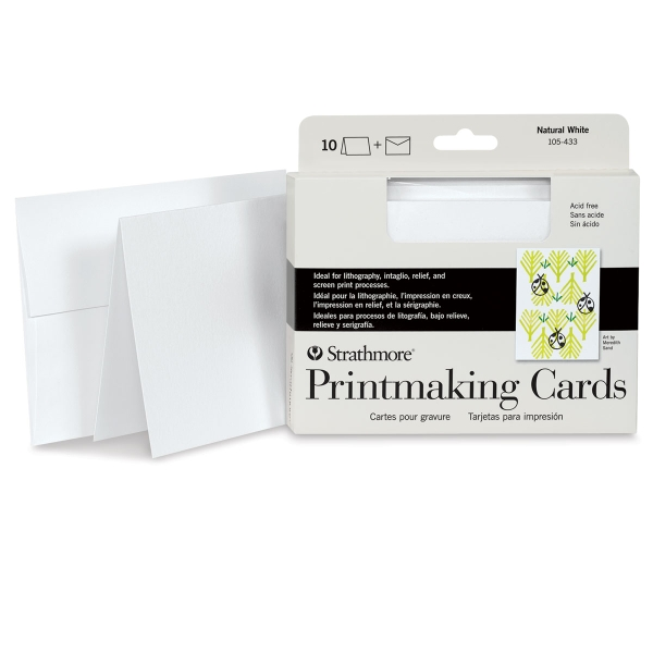 Printmaking Cards, Pkg of 10