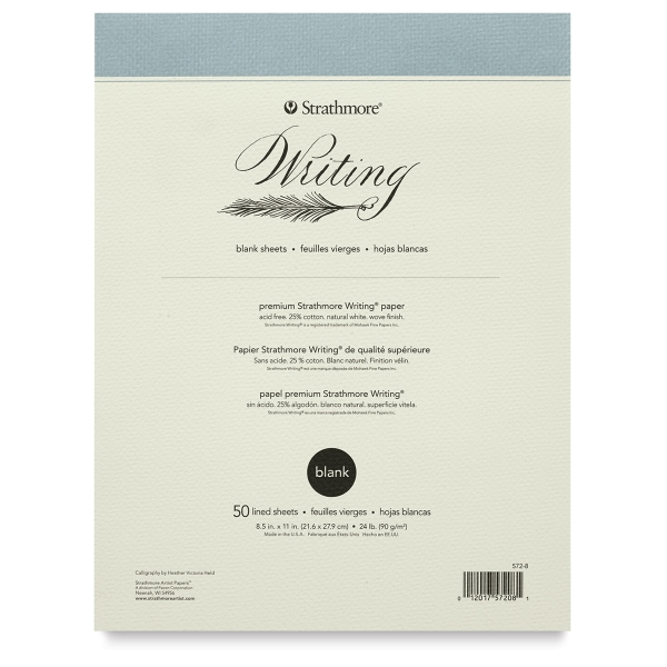 500 Series Writing Pad, 50 Sheets
