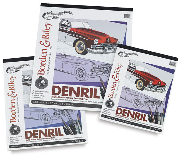 Denril Multi-Media Vellum