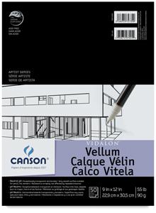Vellum, 50-Sheet Pad