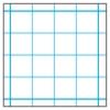 Gridded Paper, 4 × 4 Grid