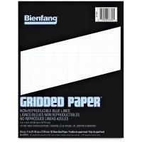 Gridded Paper, 4 &times 4 Grid