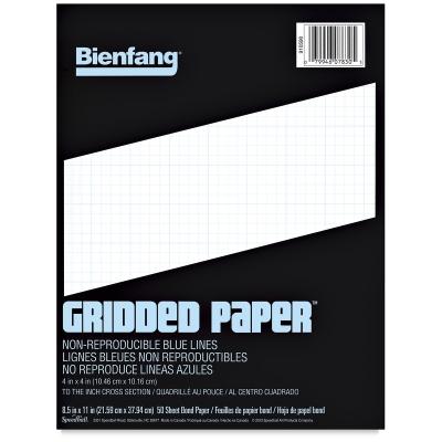 gridded paper 4 times 4 grid