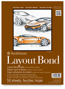 "Layout Bond Pad, 9"" × 12"""