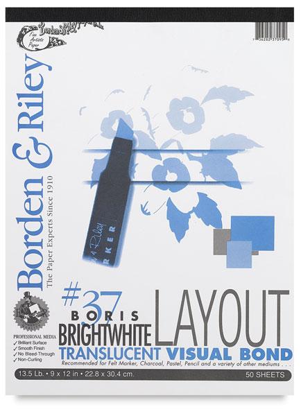 Boris Layout Paper, 50 Sheet Pad