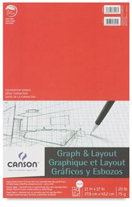 """Graph Pad, 4"""" × 4"""" Grid, 40 Sheets"""