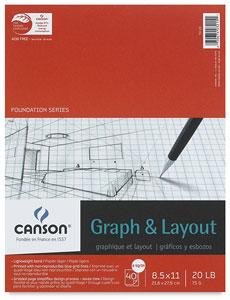 "Graph Pad, 8"" × 8"" Grid"