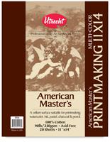 Utrecht American Master's Printmaking Paper Pads