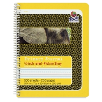 "Primary Picture Story Journal, 1/2"" Ruled"
