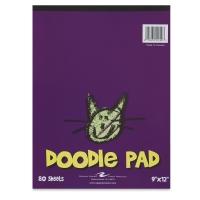Doodle Pad, 80 Sheets