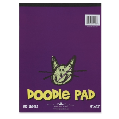 Doodle Pad, 80 Sheets