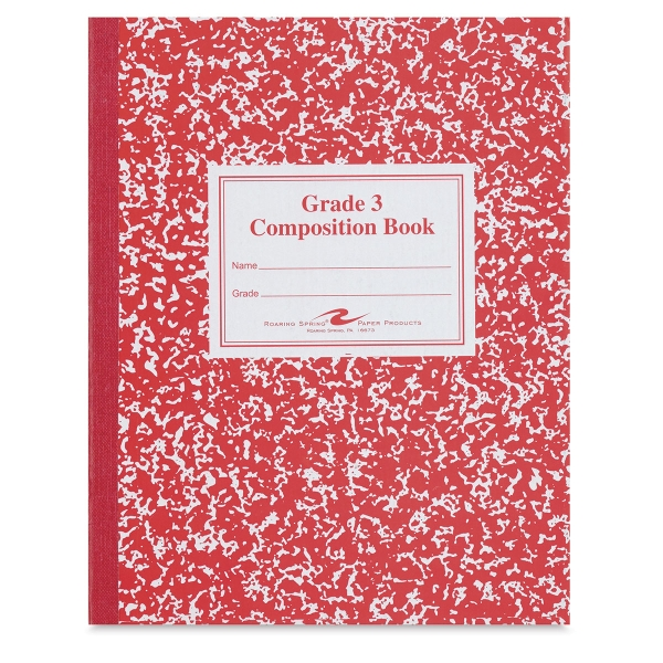 Primary Composition Notebook, Grade 3