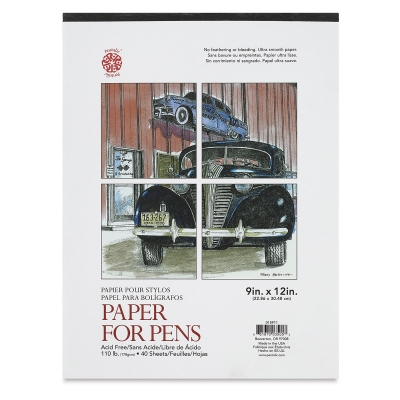 Paper For Pens Pad, 40 Sheets