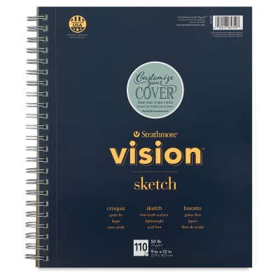 Vision Sketch Pad, 110 Sheets