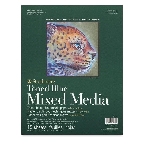 Toned Mixed Media Pad, Blue