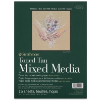 400 Series Toned Mixed Media Pad, Tan