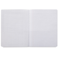 Dual Ruled Composition Book, White