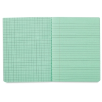 Dual Ruled Composition Book, Green