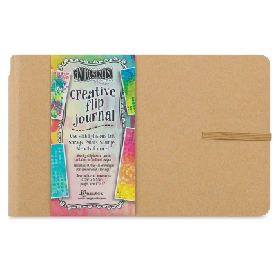 "Dylusions Creative Flip Journal, 5-5/8"" × 8-3/8"""