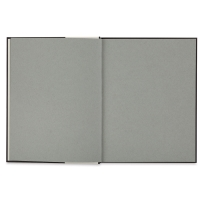 Hardbound Toned  Mixed Media Artist Journal, Gray