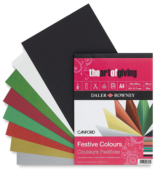 Festive Colors, 32-Sheet Pad