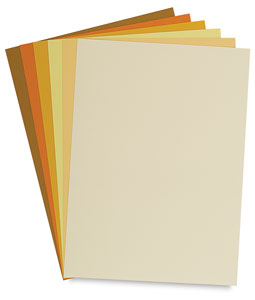 Yellow Tones, Pkg of 24 Sheets