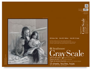 """Gray Scale Pad, 15 Sheets<br>18"""" &times; 24"""""""