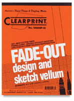 Clearprint Drafting and Design Fade-Out Vellum