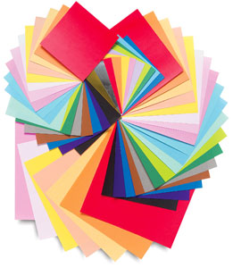 Colored Paper Assortment #1