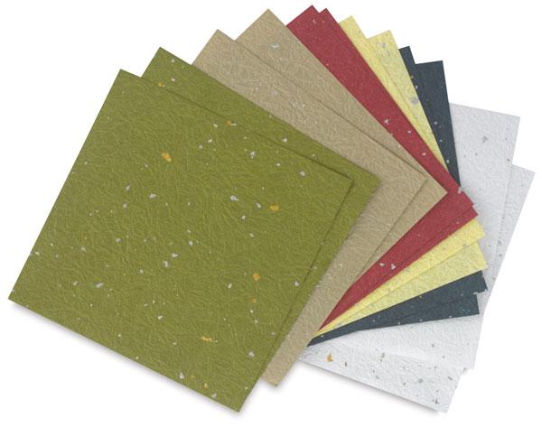Ginburi Momigami Origami Paper, Pkg of 12