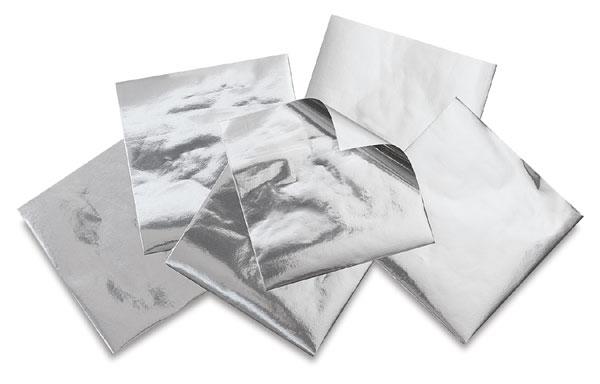 Metallic Silver Paper, Pkg of 25