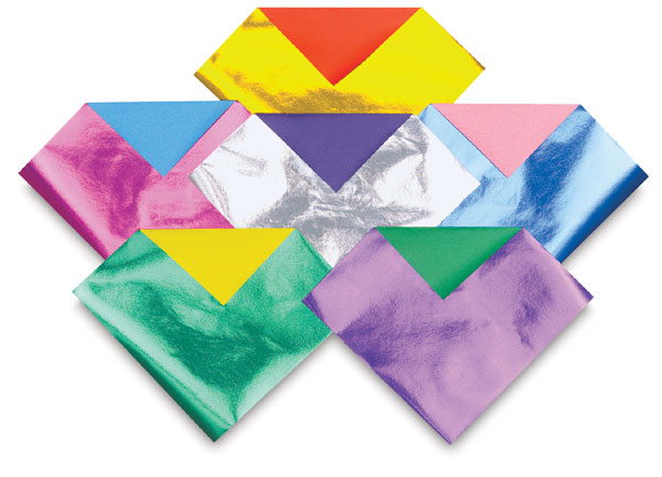 Aitoh Double-Sided Foil Origami Paper - BLICK art materials