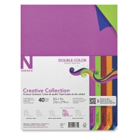 Double Color, Pkg of 40 Sheets
