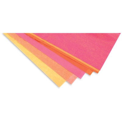 Tropical Squeeze Frosted Tissue Paper, 24 Sheets